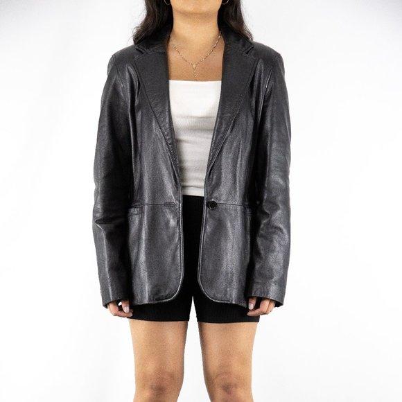 Leather Blazer (Danier)